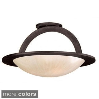 Corbett Lighting Cirque 3-light Semi-Flush