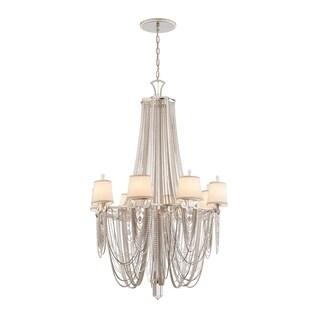 Corbett Lighting Flirt 8-light Chandelier - Silver