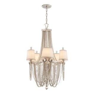 Corbett Lighting Flirt 5-light Chandelier - Silver