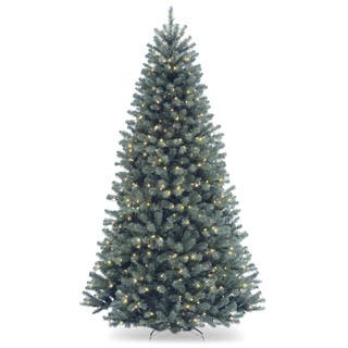 North Valley Spruce Hinged 7.5-foot Tree with 700 Clear Lights|https://ak1.ostkcdn.com/images/products/9558725/P16740148.jpg?impolicy=medium