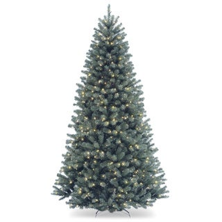 North Valley Spruce Hinged 7.5-foot Tree with 700 Clear Lights