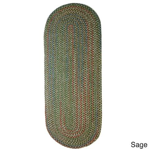 Rhody Rug Katie Indoor/Outdoor Braided Rug