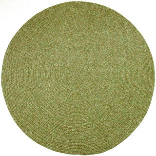 Sandi Indoor / Outdoor Reversible Braided Rug by Rhody Rug (8' Round)