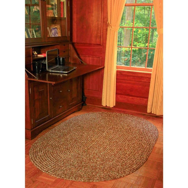 Rhody Rug Sandi Indoor/ Outdoor Reversible Braided Rug (7' x 9') - 7' x 9'