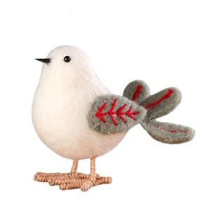 Sage & Co Sage & Co. White Felt Standing Bird (Pack of 6)