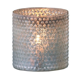Sage & Co Sage & Co. Glass Hobnail Cylinder Candle Holder