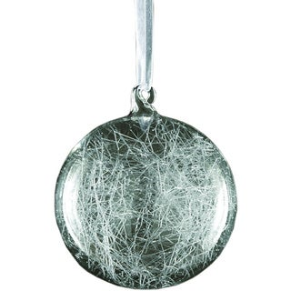 Sage & Co Sage & Co. Frosted Ice Web Ball Christmas Ornament (Pack of 4)