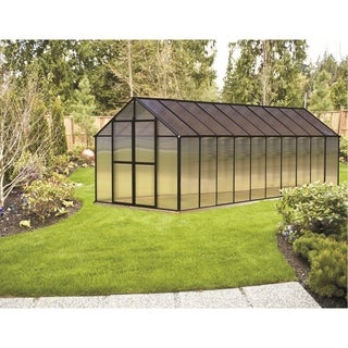 Monticello (8x20) Black Premium Greenhouse