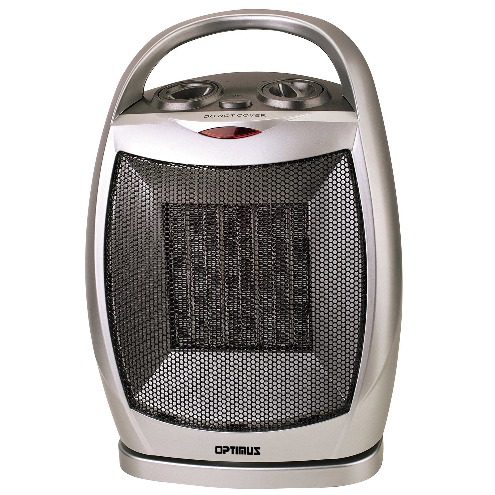 Optimus Portable Oscillating Ceramic Heater with Thermost...
