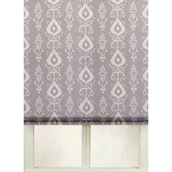 overstock roman shades first rate blinds tullahoma cotton print flat fold roman shade shop