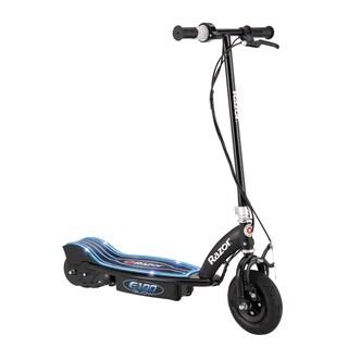 Razor E100 Glow Black Steel Electric Scooter