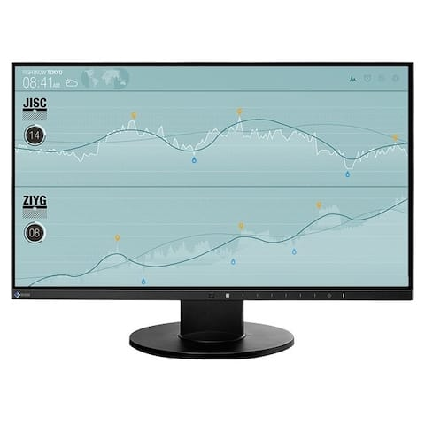 "Eizo FlexScan EV2450FX-BK 23.8"" Full HD LED LCD Monitor - 16:9 - Black"