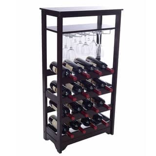 Merry Products 16-bottle Wine Rack|https://ak1.ostkcdn.com/images/products/9559389/P16740586.jpg?impolicy=medium