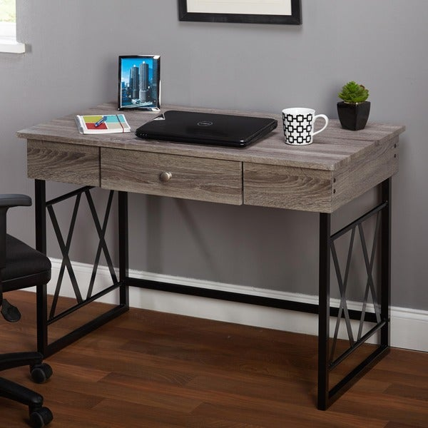 Simple Living Seneca Desk - Free Shipping Today - Overstock.com