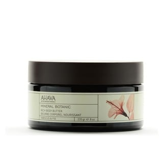Ahava Mineral Botanic Hibiscus and Fig 8-ounce Rich Body Butter