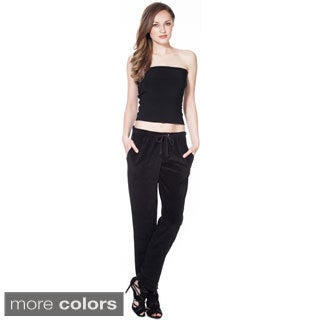 Women's Cotton Velour Pant - Made In USA