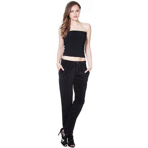 Women's Cotton Velour Pant -