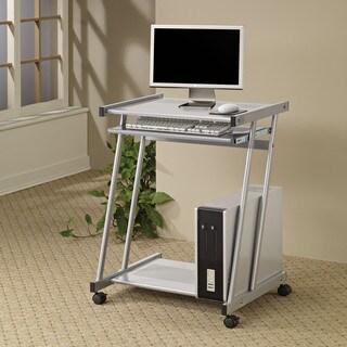Coaster Company Silver Computer Desk