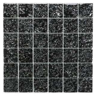 ICL I-131 Crackle Glass Mosaic