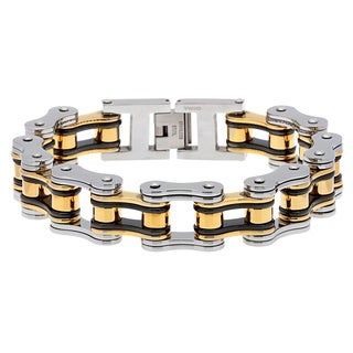 Stainless Steel Bike Chain Bracelet