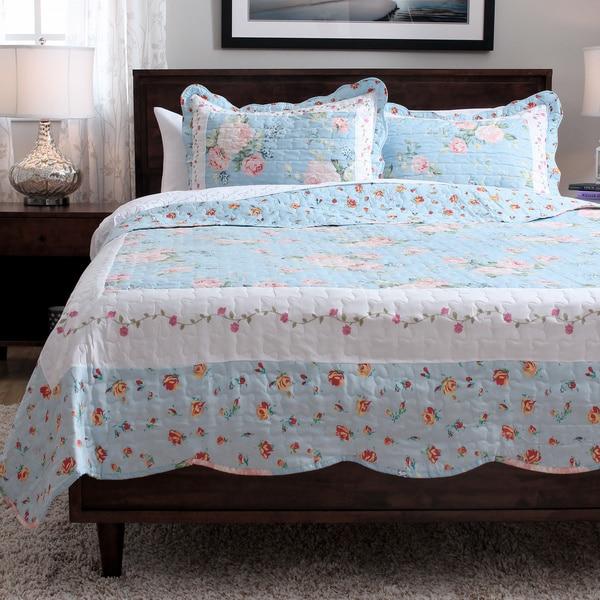 Slumber Shop Blue Ridge 3-Piece Reversible Quilt