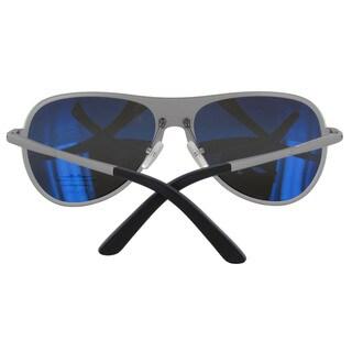 Vuarnet Extreme Unisex 'VE 7011' Rounded Polarized Aviator Sunglasses