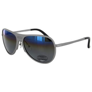 Vuarnet Extreme Unisex 'VE 7011' Rounded Polarized Aviator Sunglasses