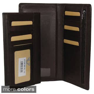 buy leather checkbooks online at overstock com our best wallets deals