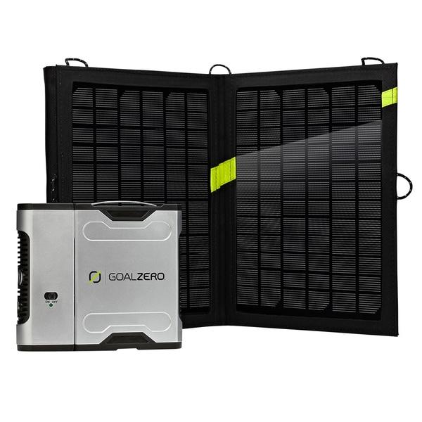 Goal Zero Sherpa 50 Solar Recharging Kit with Inverter