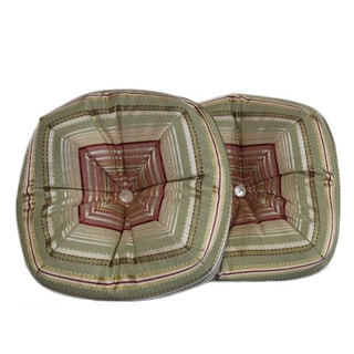 Ribbon Stripe Sage Pillows (Set of 2)