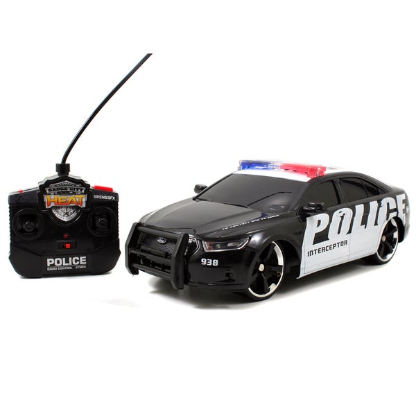2013 Ford Interceptor 1:16 RC Car with Lights and Sound