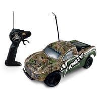 NKOK RealTree Camo Mongoose 1:16 Remote Control Car