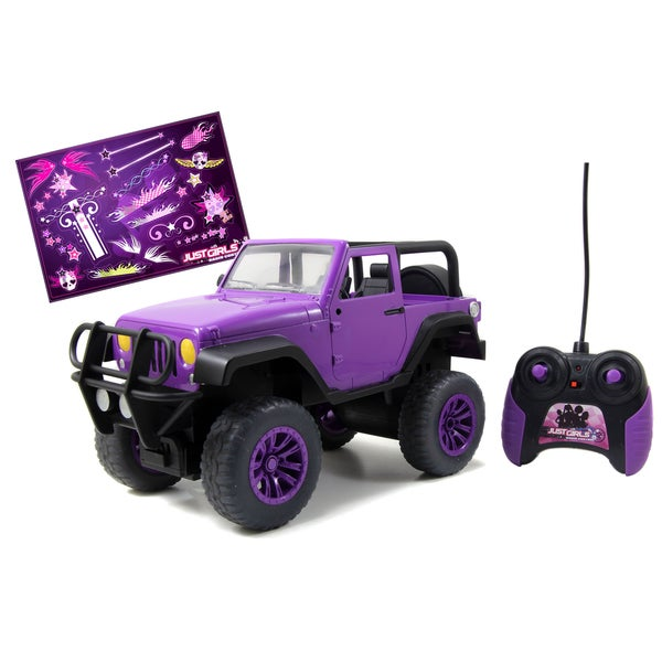 Shop Just Girls Big Foot Jeep Remote Control Truck Free