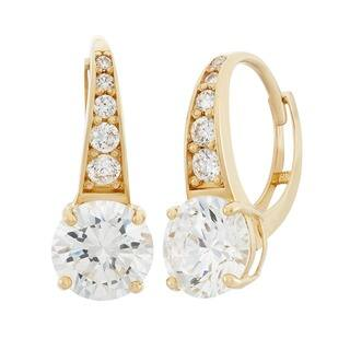 Gioelli 10k Yellow Gold Round Basket Leverback Earring|https://ak1.ostkcdn.com/images/products/9561746/P16743021.jpg?impolicy=medium
