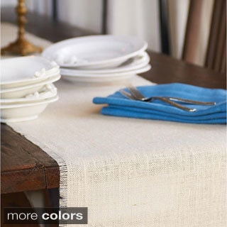 Caravan Burlap Table Runner