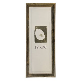 Barnwood 12-inch x 36-inch Picture Frame