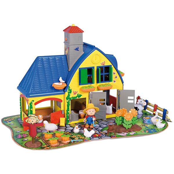 Imports Dragon Caillou Farm Playset