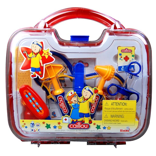 Imports Dragon Caillou Plastic Medical Kit