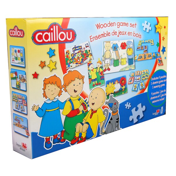 Imports Dragon Caillou Wood Game Set