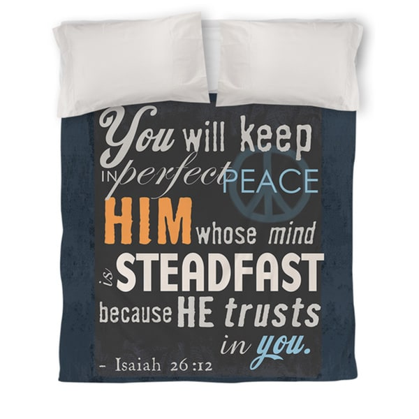 In Perfect Peace Duvet Cover