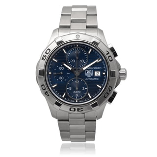 Tag Heuer Men's 'Aquaracer' Automatic Chronograph Link Watch