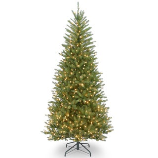 7.5-foot Dunhill Slim Fir Hinged Tree with 600 Clear Lights