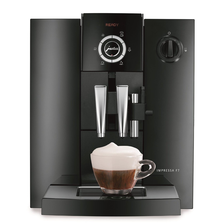 Jura Piano Black Impressa F7 Combination Espresso (Brown)...