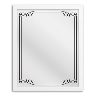 Gallery Direct Art Deco II Hanging Framed Mirror Art