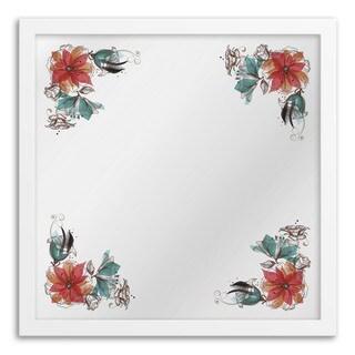 Gallery Direct Bouquet Corner Hanging Mirror Wall Art