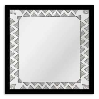 Gallery Direct Chevron Whimsy Mirror Art