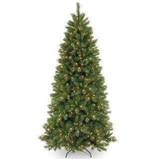 7.5-foot Lehigh Valley Pine Medium Hinged Tree with 500 Clear Lights