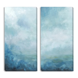 Gallery Direct Sean Jacobs 'Ocean Front II and III' Canvas Art Set