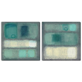 Gallery Direct Haynes Worth 'Illusion I' Triptych Art