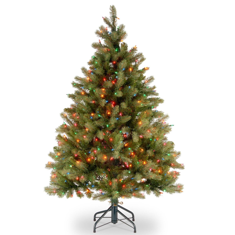 National Tree 4.5-foot Feel-Real Down Swept Douglas Fir H...
